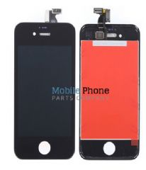 Apple iPhone 4S LCD + Digitiser Black - High Quality